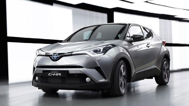 Toyota mikt met C-HR op Qashqai
