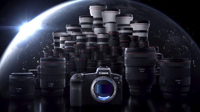 Canon kondigt spiegelloze fullframecamera aan