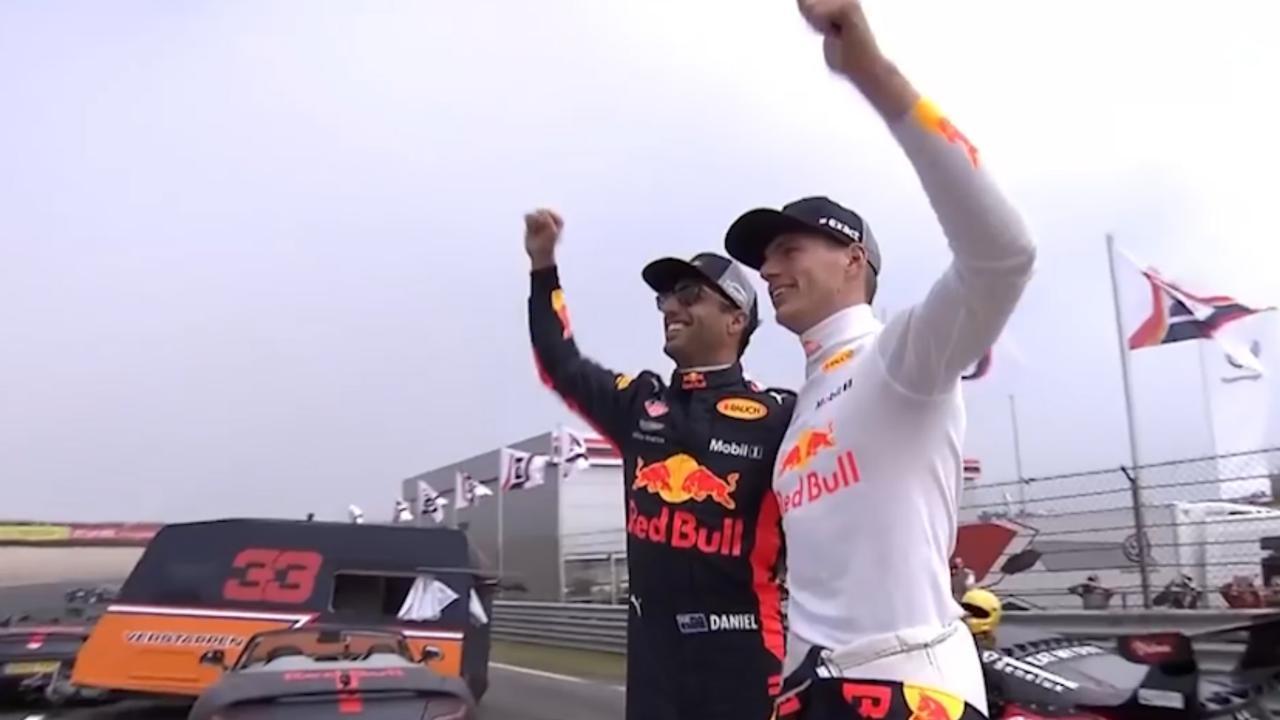 Vertrek Ricciardo bij Red Bull: De bizarste uitstapjes met Verstappen