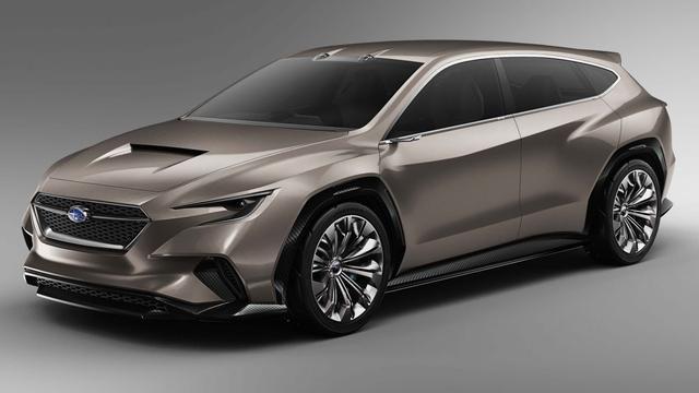 Subaru presenteert studiemodel Viziv Tourer