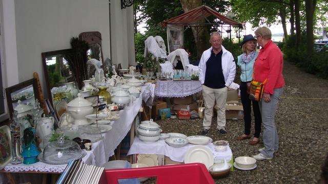 Vooral veel aardewerk op Ruigenhilfair