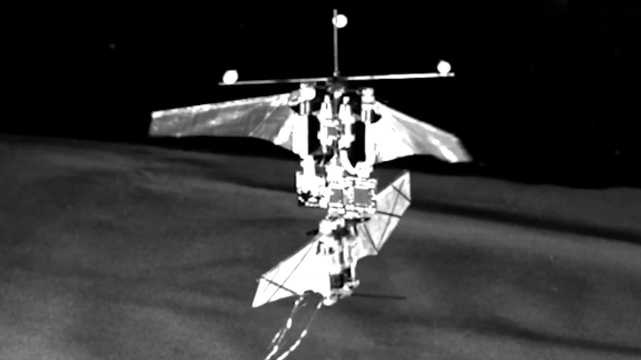 Onderzoekers maken drone die vliegt als kolibrie