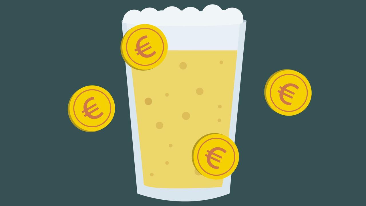 Waar stijgt de prijs van bier het hardst: kroeg of festival?