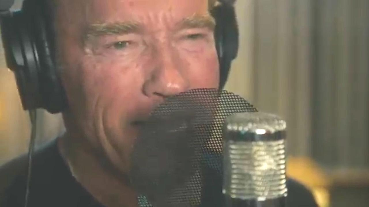 Arnold Schwarzenegger Raps Motivational Texts Teller Report