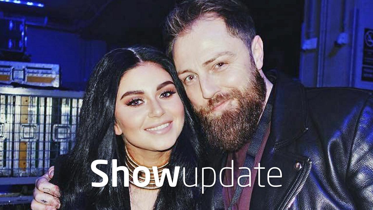 Show Update: Roxeanne Hazes en Erik Zwennes smoorverliefd