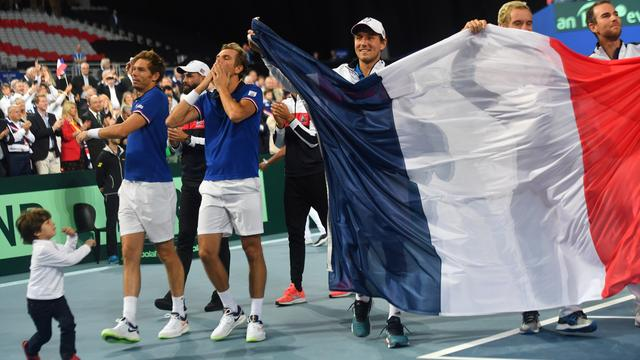 Frankrijk plaatst zich net als vorig jaar voor finale Davis Cup