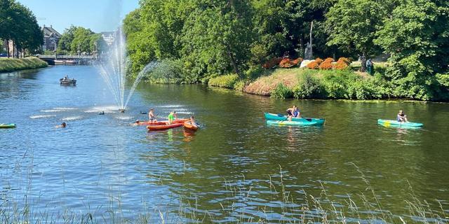 Kanoliefhebbers opgelet: deze tocht over de Vecht en het Zwarte Water in Zwolle kun je ook doen