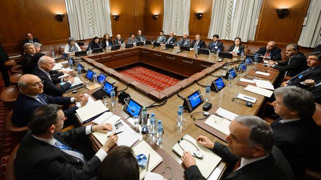 Oppositiegroepen Syrië voeren gezamenlijk overleg met VN-gezant