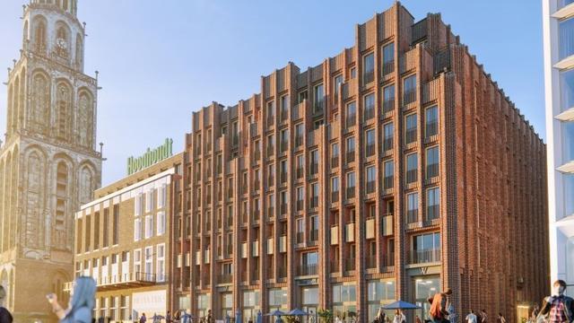 Bouw WestCord Hotel aan Grote Markt gestart