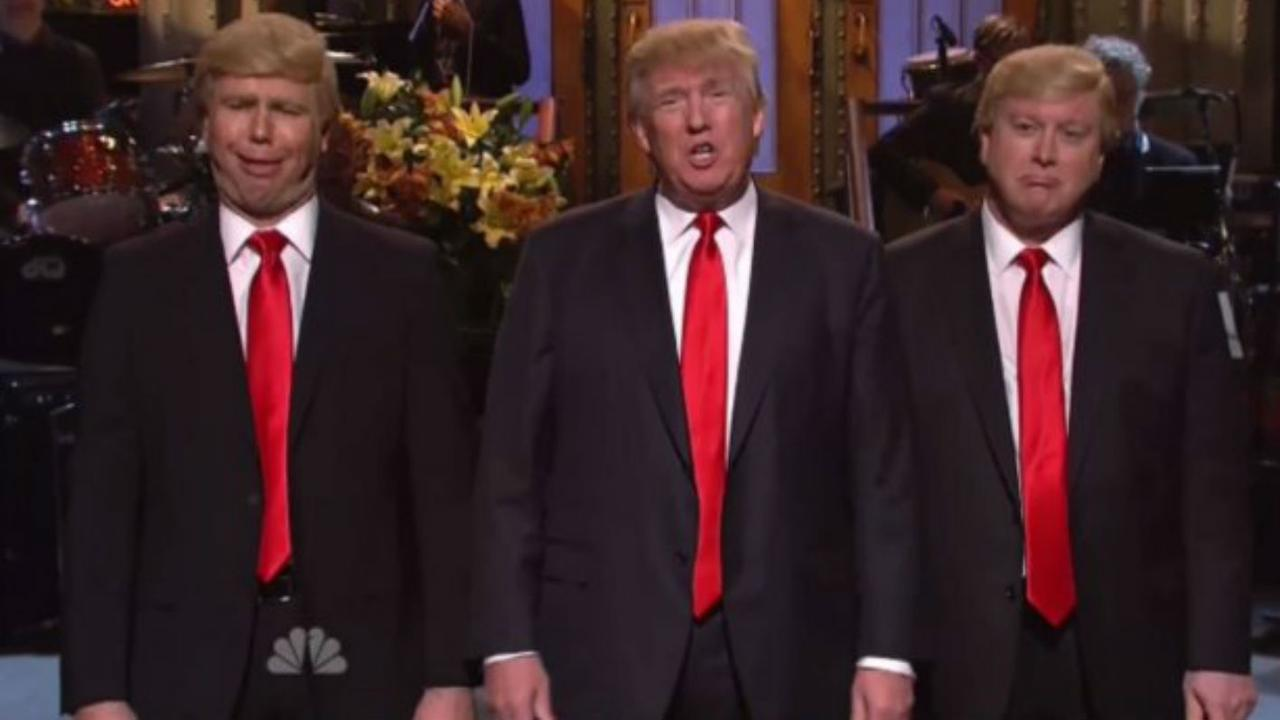 Donald Trump bij Saturday Night Live