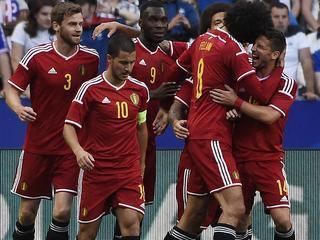 Bondscoach Wilmots telt zegeningen na 4-3 overwinning in Frankrijk