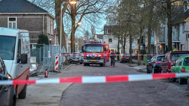 Brandweer onderzoekt gaslek in Magnoliastraat