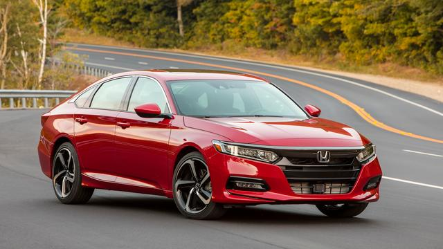 Honda Accord wint Amerikaanse Auto van het Jaar-verkiezing