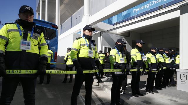Ruim duizend beveiligers Pyeongchang in quarantaine met besmettelijk virus