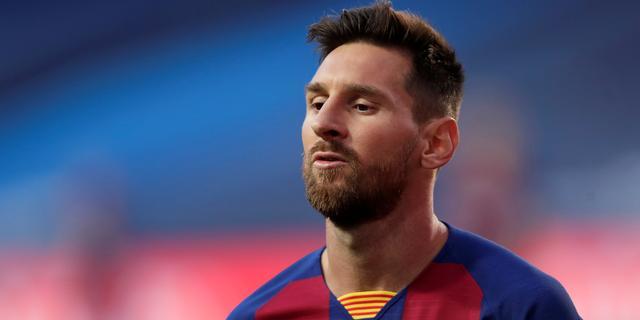FC Barcelona bevestigt vertrekwens Messi, maar wil hem niet laten gaan