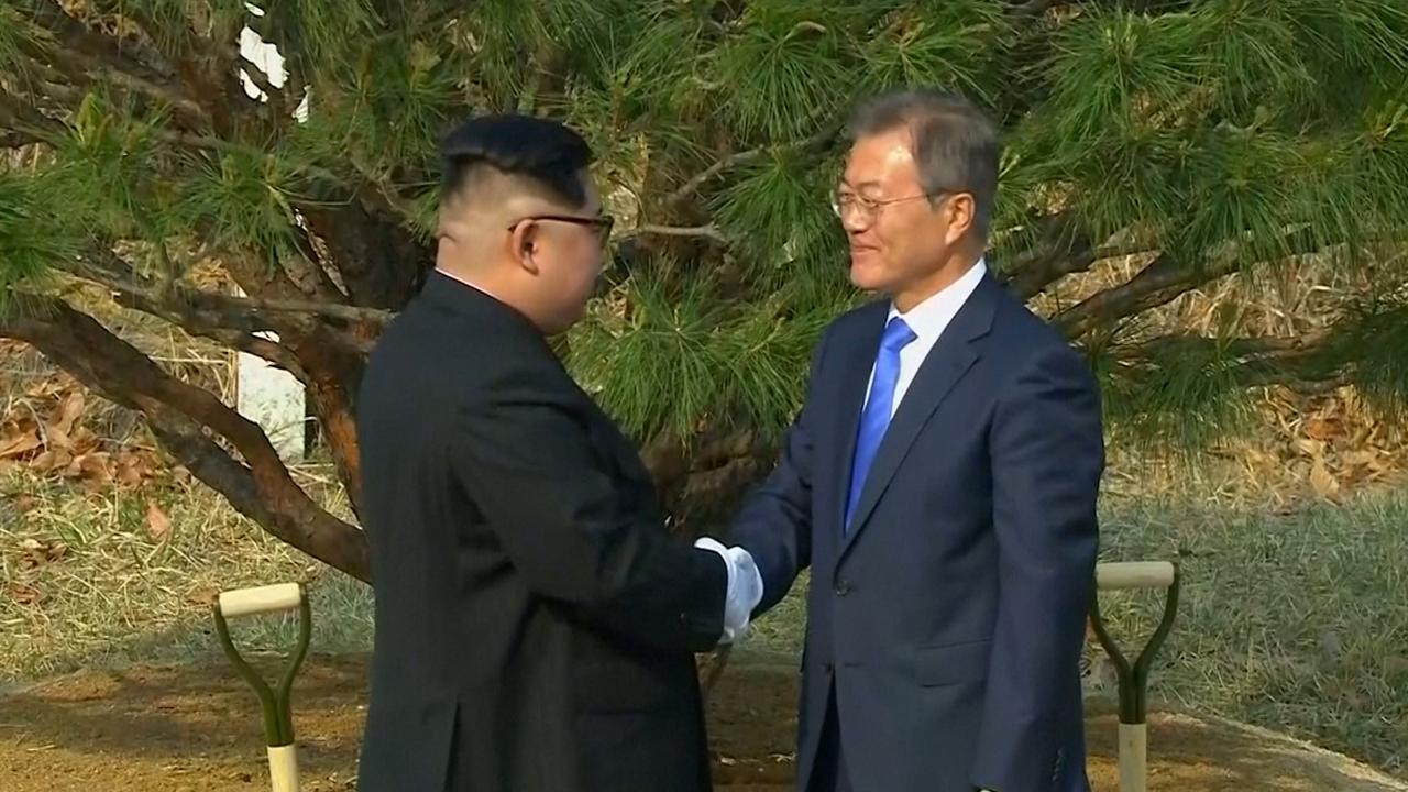 Noord- en Zuid-Korea sturen aan op permanente vrede