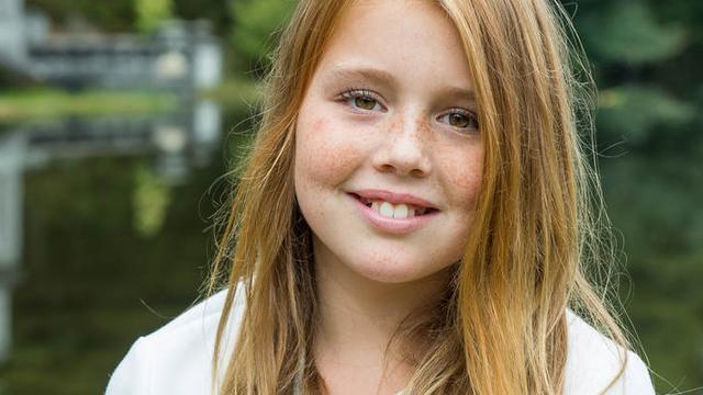 Prinses Alexia viert twaalfde verjaardag