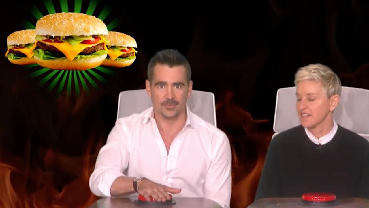 Cheeseburgers eten slechtste gewoonte van Colin Farrell