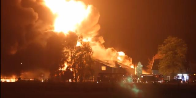 Brand bij recyclingbedrijf in Someren-Heide duurt nog dagen