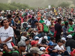 Honderden terug naar huis gegaan