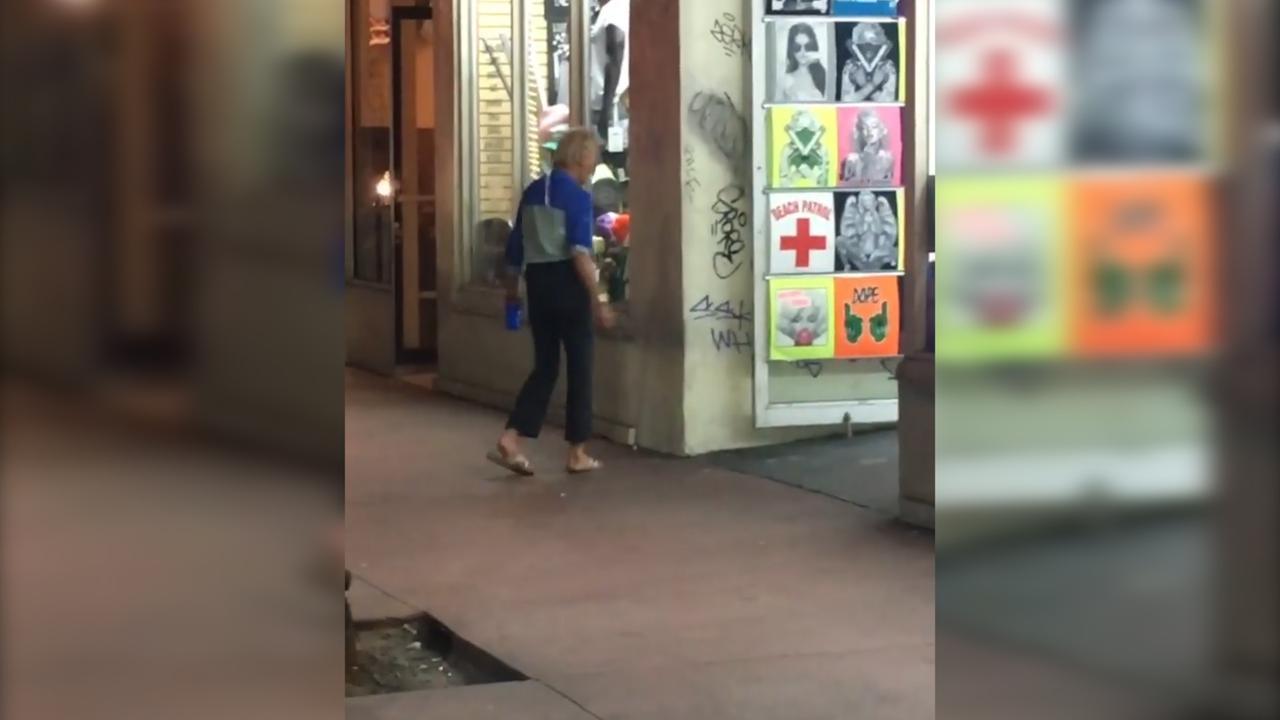 Nicki Minaj filmt verwarde vrouw en plaatst het op Instagram