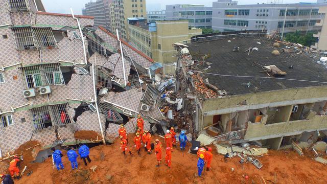 Menselijke fout veroorzaakte aardverschuiving China