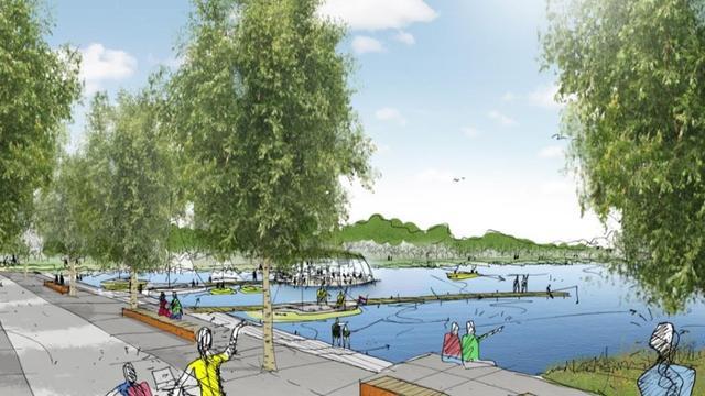 Gemeente prikt deel van dijk rondom Hoornsemeer door