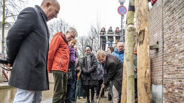 Werkzaamheden Nieuwegracht bijna klaar, bomen komen terug