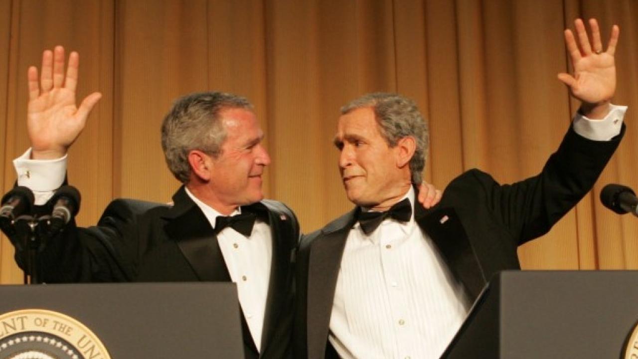 Amerikaanse presidenten houden humoristische speeches tijdens Correspondents Dinner