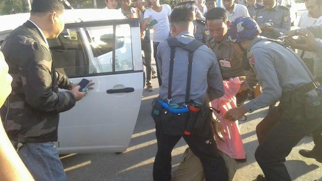 Advocaat regeringspartij Myanmar doodgeschoten in Yangon