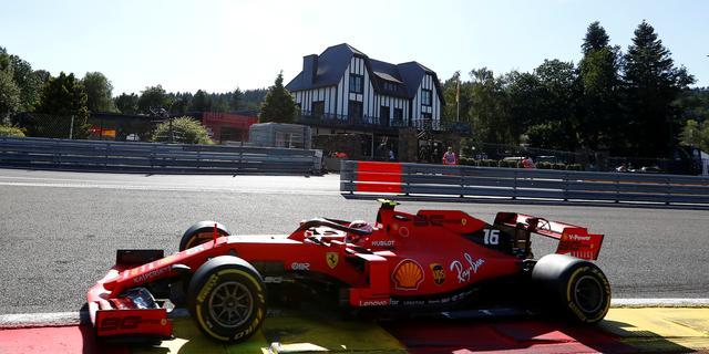 Ferrari domineert eerste trainingen in Spa (gesloten)