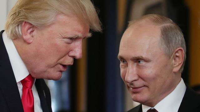 'Trump hield details van gesprek met Poetin geheim voor eigen regering'