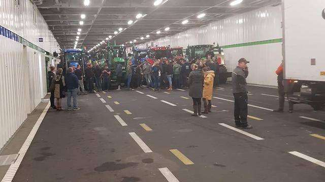 Eerste boeren al onderweg richting protestlocatie in De Bilt