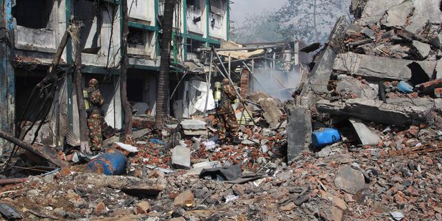 Doden bij explosie chemische fabriek in voorstad Mumbai