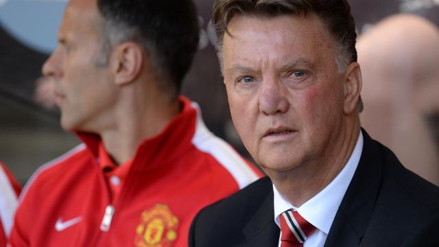 Van Gaal niet tevreden met optreden United in tweede helft oefenduel