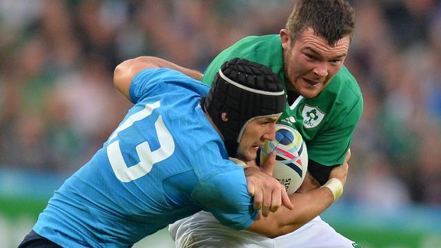 Ierland plaatst zich voor kwartfinales WK rugby na zege op Italië