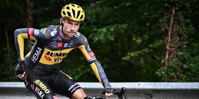 Gehavende Jumbo-Visma-kopman Roglic stapt af in Tour de France