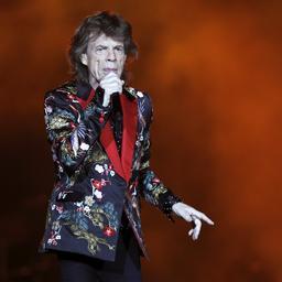 Mick Jagger is bezig met schrijven van nieuwe nummers