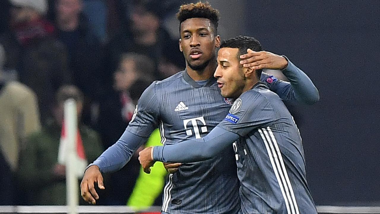 Coman schiet Bayern op voorsprong in slotfase tegen Ajax