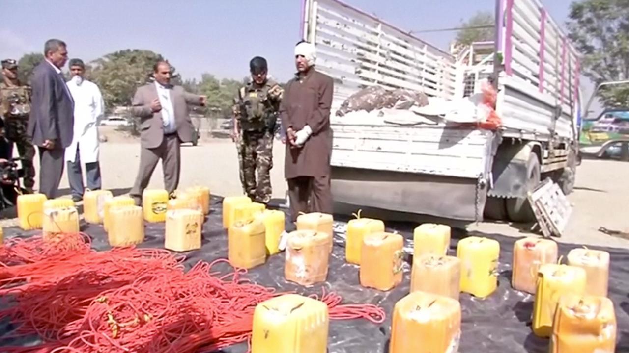 Afghaanse politie onderschept vrachtwagen met 2.500 kilo explosieven