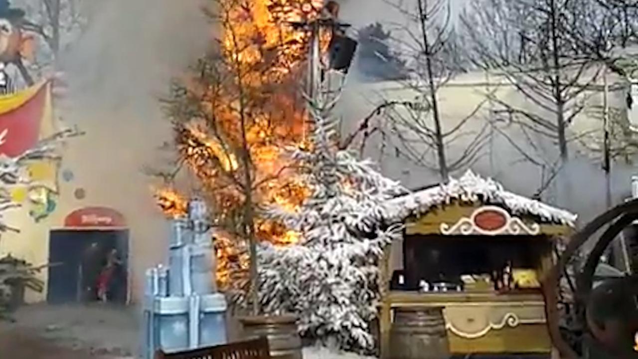 Brand in Efteling zorgt voor sluiting attracties