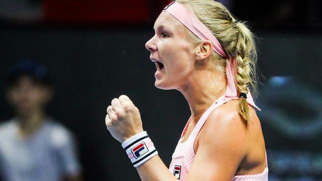 Bertens naar halve finales in Sint-Petersburg door zege op Pavlyuchenkova