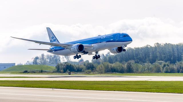 Laagvliegende Dreamliner zorgt voor onrust in Zeeland