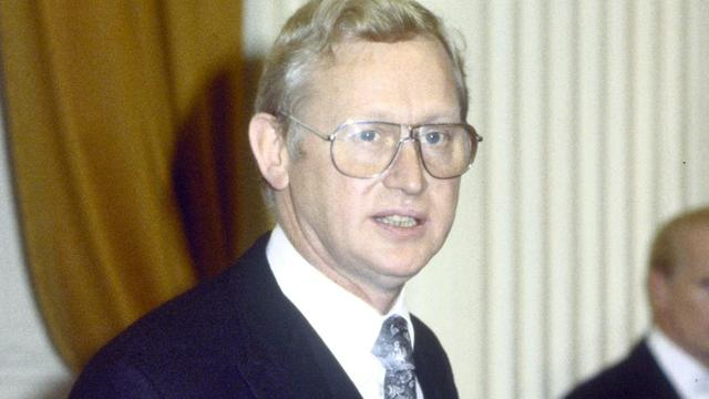 Oud-minister en CDA-coryfee Frans Andriessen (89) overleden