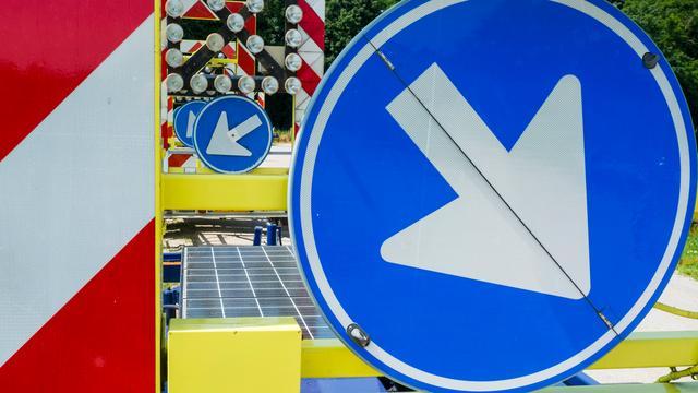 Onderhoud aan Oostkanaalweg tijdens weekendafsluiting