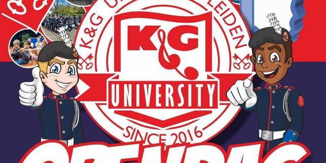 Aanstaande zaterdag Open Dag K&G University