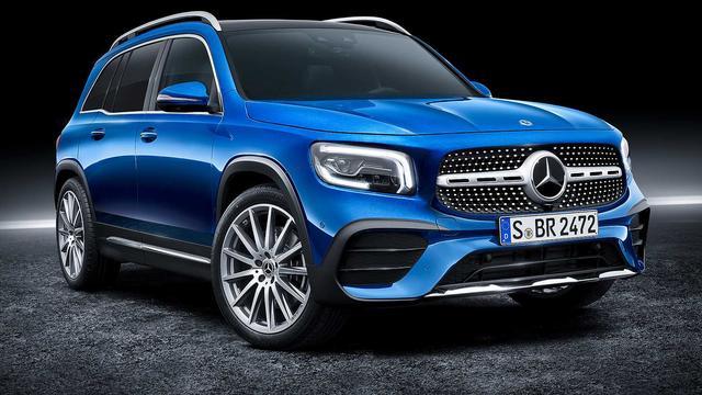 Mercedes-Benz introduceert met GLB zijn zevende SUV