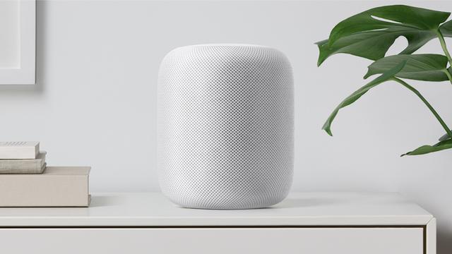 'Verkoop Apple HomePod-speaker nabij'