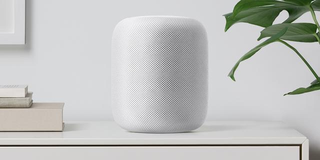 'Verkoop Apple HomePod-speaker nabij'