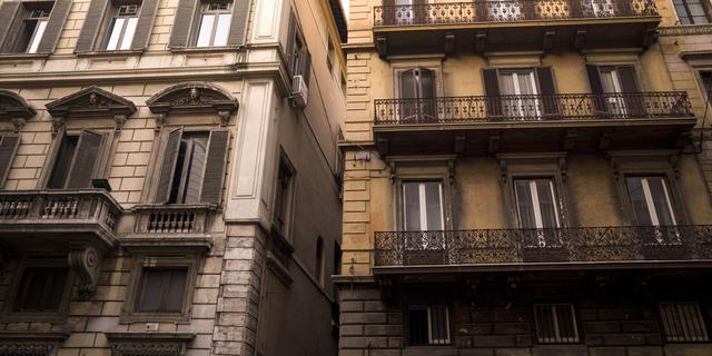 Italianen hoeven voorlopig geen hypotheek te betalen vanwege coronavirus